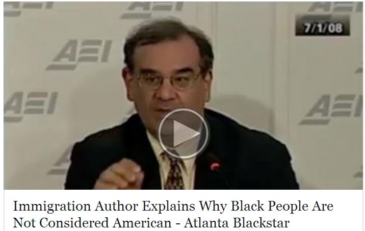 Immigration Author Explains Why Black People Are Not Considered American