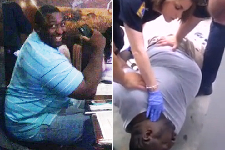 4 EMS workers barred from duty after chokehold death (Video)