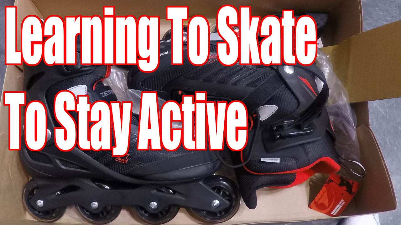 Learning To Skate To Stay Active