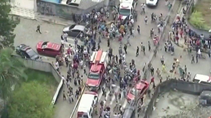 Brazil school shooting video