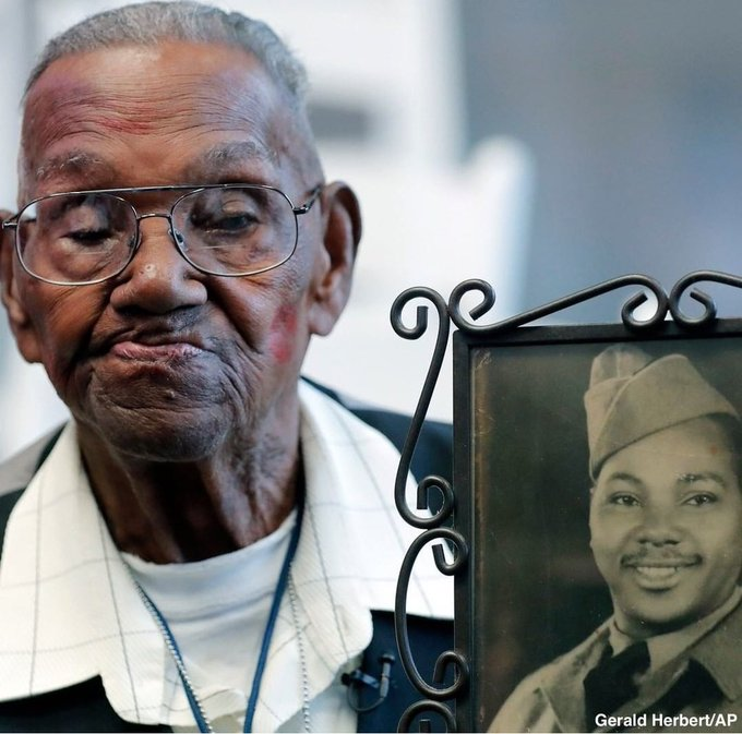 'Do What I Was Told, and Keep My Mouth Shut': Oldest U.S. WWII Veteran Who Turned 110, Recounts Time in Segregated Army