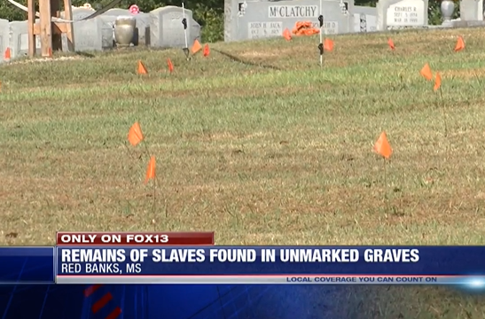Mississippi Cemetery Crews Find 119 Unmarked Graves of Enslaved Africans During Maintenance Work
