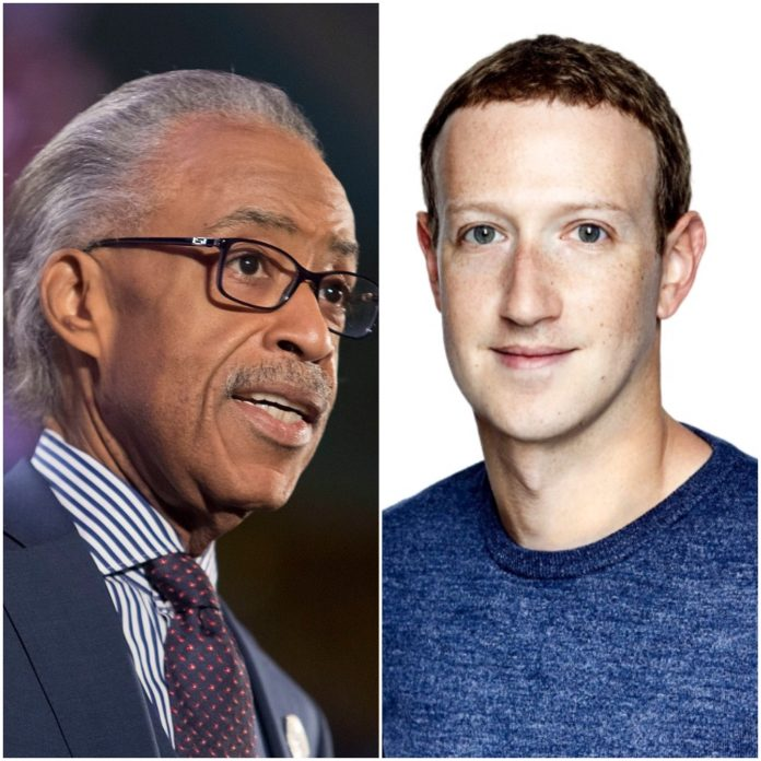 'He Listened': Al Sharpton Reveals No Promises Came Out of Meeting With Facebook's Mark Zuckerberg to Discuss Political Ads