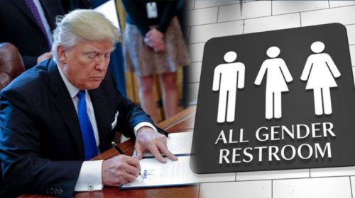 Do You Support Trump Repealing Obama's Transgender Bathroom Laws